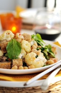 Salad with cauliflower recipe