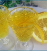 Tsytrusivka (homemade lemon alcoholic drink)