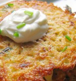 Deruny (potato pancakes)
