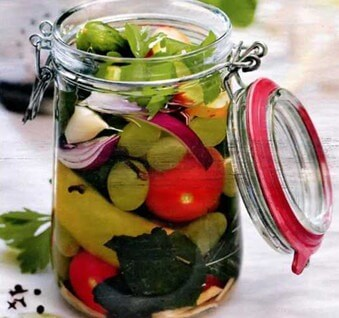 Preserved vegetables ukrainian recipes for a tasty life if you want to surprise your guests with juicy vegetables in winter then this recipe is for you follow the recipe below to cook crunchy cucumbers forumfinder Images