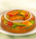 Vegetable aspic