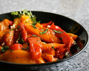 Roasted and marinated bell peppers   Ukrainian recipes - for a tasty ...