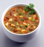 Veal and Fresh Vegetable Soup