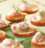 Herring and Potato Appetizer