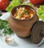 Clay Pot Veal and Vegetable Soup