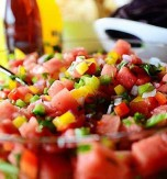 Refreshing Watermelon and Bell Pepper Salad