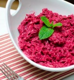 Beetroot and Horseradish Appetizer with Lemon Dressing