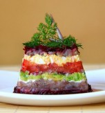 Herring and Vegetable Salad