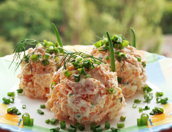 Vegetable appetizer ukrainian recipes for a tasty life if you enjoy healthy food and dont have much time for cooking then this fabulous starter is for you the recipe is so easy that even children can cook forumfinder Images