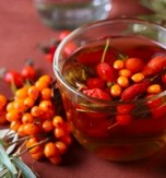 Autumn Tea with Sea Buckthorn