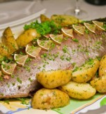 Roasted Mackerel and Potatoes
