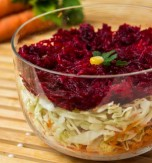 Cabbage, Carrot, and Beetroot Salad