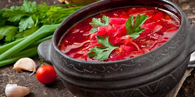Beetroot Soup Ukrainian Recipes For A Tasty Life