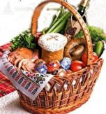 WHAT DO UKRAINIANS PUT IN AN EASTER BASKET