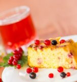 Cheese Babka (Cheese Cake) with Red Currants