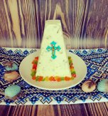 Ukrainian Easter Cake – Cottage Cheese Paska