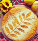 Pumpkin semolina cake – Healthy dessert in fall colors