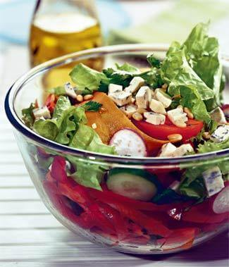 Vegetarian salad recipe
