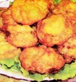 Fried mushroom appetizer