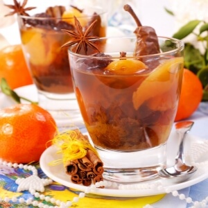 Dried fruit compote