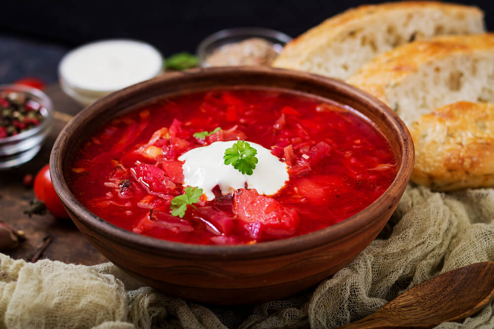 Beet Borscht Ukrainian Recipes