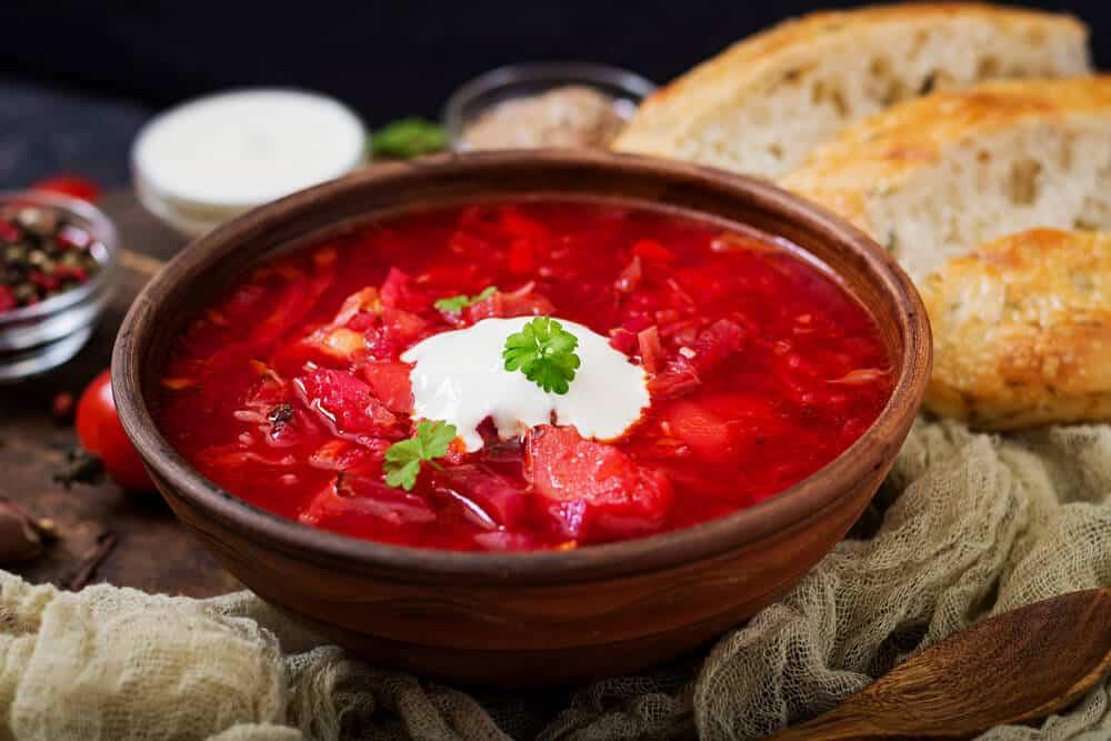 Beet Borscht Ukrainian Recipes