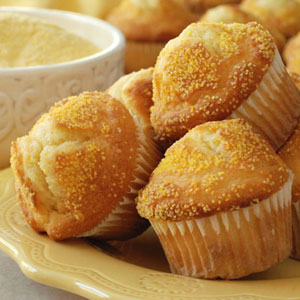 Cupcakes with raisins