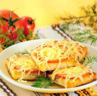 Quick andwiches recipe