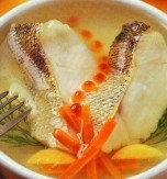 Carp with honey sauce