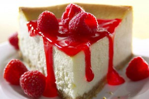Cheesecake with cottage cheese