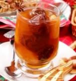 Apple cranberry uzvar (drink)