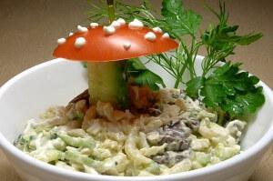 Salad 'Mushroom'