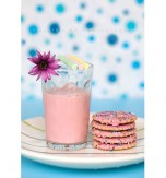 Pink milk (Kyiv recipe)