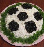 """Salad """"football"""""""