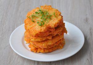 Carrot flapjacks