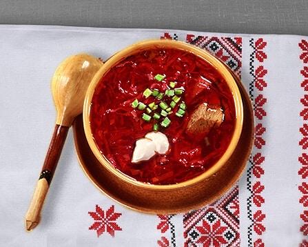 Disk Russian Kitchen