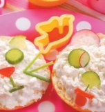 "Open-face sandwiches ""animals"""