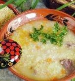 Ukrainian fish soup Shcherba