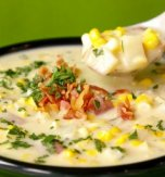 Corn and potato soup