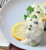 Halibut chop