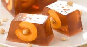 Apricot and hazelnut jelly