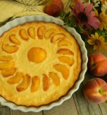 """Lasy"" peach pie"