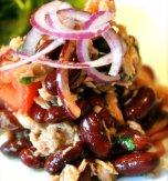 Beans and tuna salad