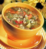 Beef kidney soup