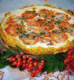 "Pie ""Vegetable basket"""