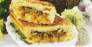 Vegetarian egg pie