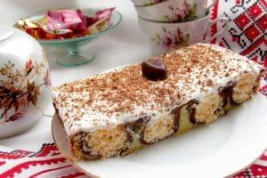 Ukrainian layered cake