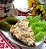 Ukrainian chaser – Salo sandwich spread