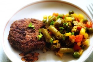 Beef liver patties