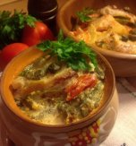 Crock pot plaice and vegetables